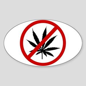 Anti Pot Sticker (Oval)