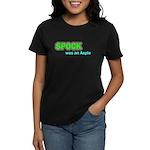 Spock was an Aspie Women's Dark T-Shirt