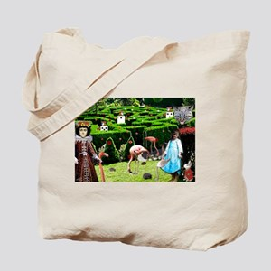 Croquet With The Queen Tote Bag