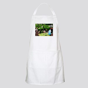 Croquet With The Queen Apron