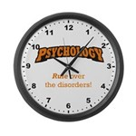 Rule over the disorders! Large Wall Clock