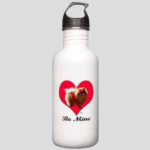 A Pomeranian Valentine Stainless Water Bottle 1.0L