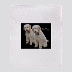 Goldendoodle: Wallace Throw Blanket