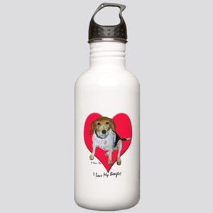 Daisy the Beagle Stainless Water Bottle 1.0L