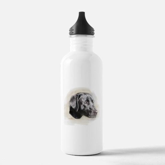 Duke The Black Lab Water Bottle