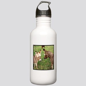 Two Baby Donkeys Stainless Water Bottle 1.0L