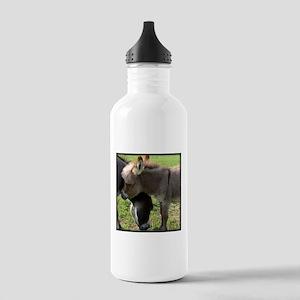 Baby Mini Donkey Hug Stainless Water Bottle 1.0L