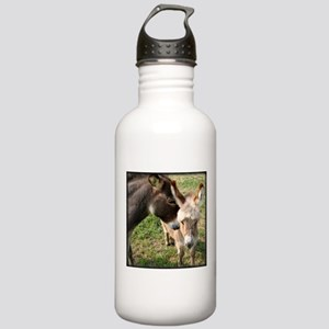 Donkey Mother's Love Stainless Water Bottle 1.0L