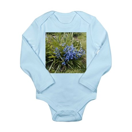 Bluebells Long Sleeve Infant Bodysuit