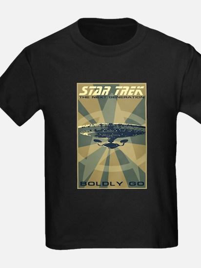 Retro Star Trek: TNG Poster T