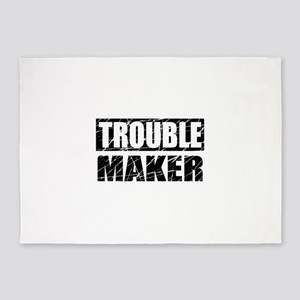 Trouble Maker 5'x7'Area Rug
