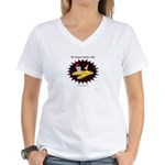 Atomic Martini Club POW Women's V-Neck T-Shirt