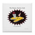 Atomic Martini Club POW Tile Coaster