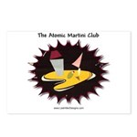 Atomic Martini Club POW Postcards (Package of 8)