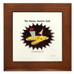 Atomic Martini Club POW Framed Tile