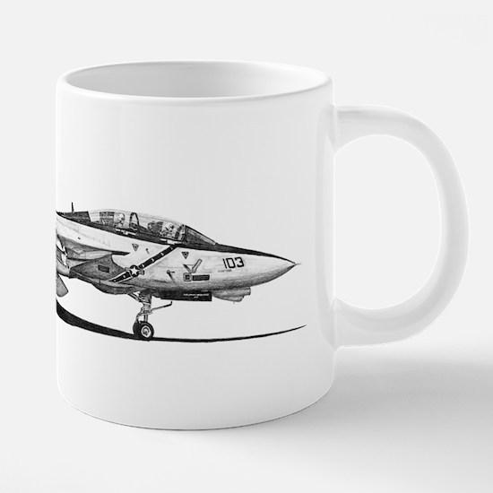 F14 Tomcat 20 oz Ceramic Mega Mug
