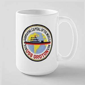 USS Groton SSN 694 Large Mug