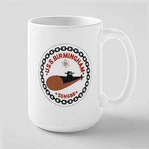 USS Birmingham SSN 695 Large Mug