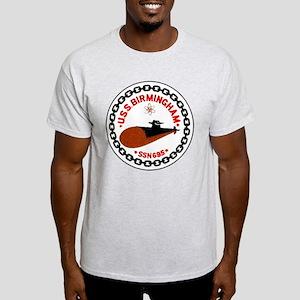 USS Birmingham SSN 695 Light T-Shirt