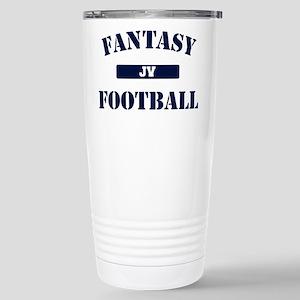 JV Fantasy Football Stainless Steel Travel Mug