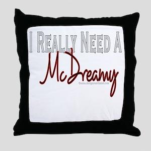 Need A McDreamy Throw Pillow