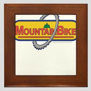 Mountain Bike Framed Tile