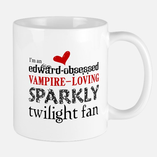 Sparkly Twilight Fan Mug