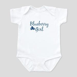 Blueberry Girl Infant Creeper