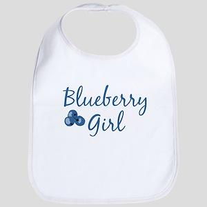 Blueberry Girl Bib