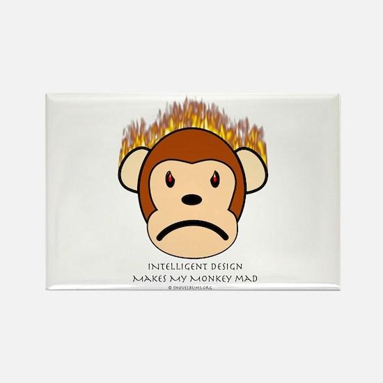 Intelligent Design Makes My Monkey Mad Rectangle M