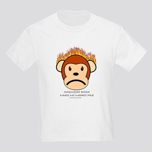 Intelligent Design Makes My Monkey Mad Kids T-Shir