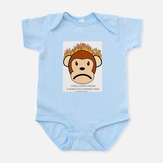 Intelligent Design Makes My Monkey Mad Infant Cree