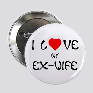 I Love My Ex-Wife Button