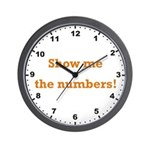 Show me the numbers! Wall Clock