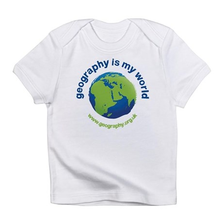 'Geography is my World' Infant T-Shirt