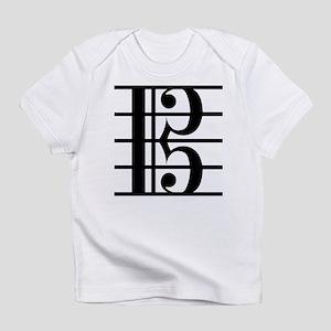Alto Clef Infant T-Shirt