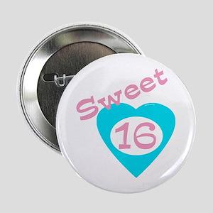 Sweet (16) Sixteen Button