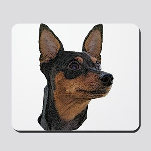 Miniature Pinscher Mousepad