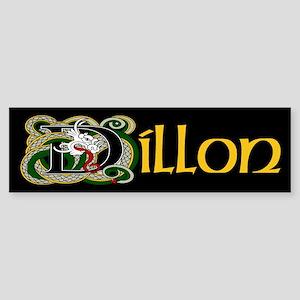 Dillon Celtic Dragon Sticker (Bumper)