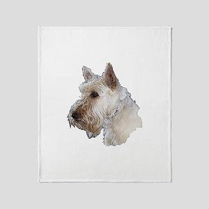 Scottish Terrier (Wheaten) Throw Blanket