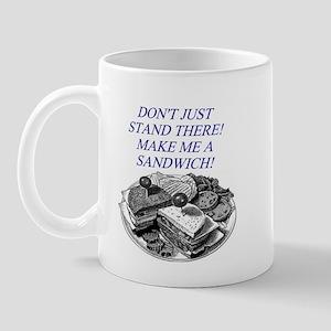 sandwich male chauvinist pig Mug