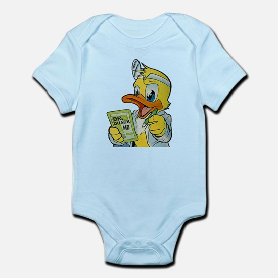 Quackery the Duck, MD Infant Bodysuit