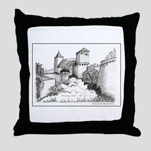 Nuremburg Castle Throw Pillow