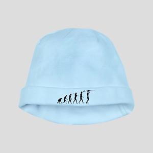 Surfing Evolution baby hat