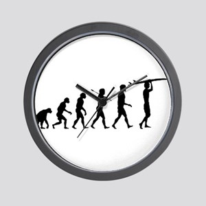Surfing Evolution Wall Clock