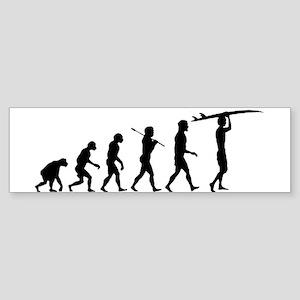 Surfing Evolution Sticker (Bumper)