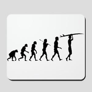 Surfing Evolution Mousepad