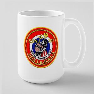 USS La Jolla SSN 701 Large Mug