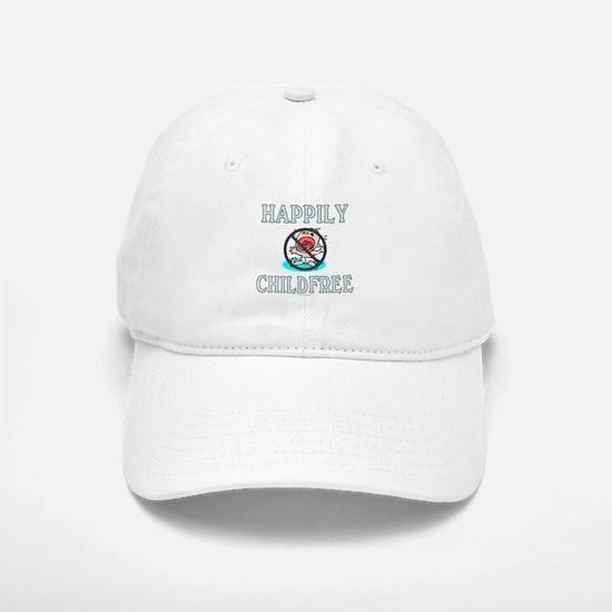 Happily childfree (Baseball Baseball Cap)