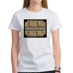 Egyptian Hieroglyphics Women's T-Shirt
